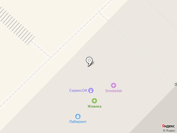 ЛАД на карте Тюмени