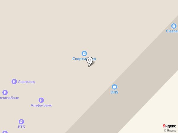 Cinnabon на карте Тюмени