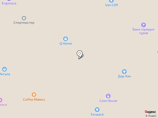 #Лаваш на карте Тюмени