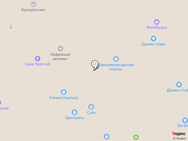 Павловопосадские платки на карте Тюмени