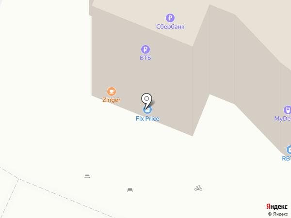 Тюменский бройлер на карте Тюмени