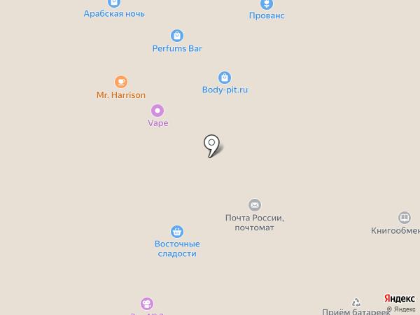 Zenden на карте Тюмени