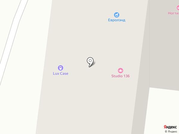 Профпанель на карте Тюмени