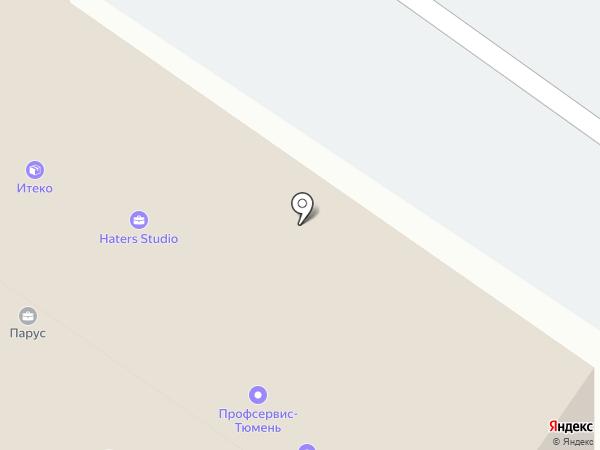 КУБ на карте Тюмени