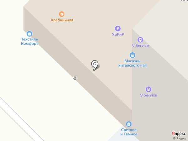Магазин китайского чая на карте Тюмени