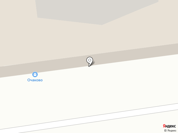 Очаково на карте Тюмени