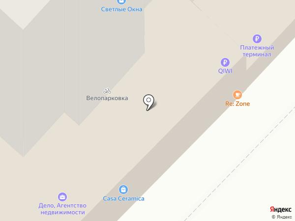Re:Zone на карте Тюмени
