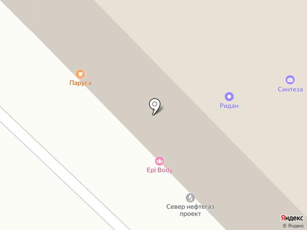 Страховой дом на карте Тюмени
