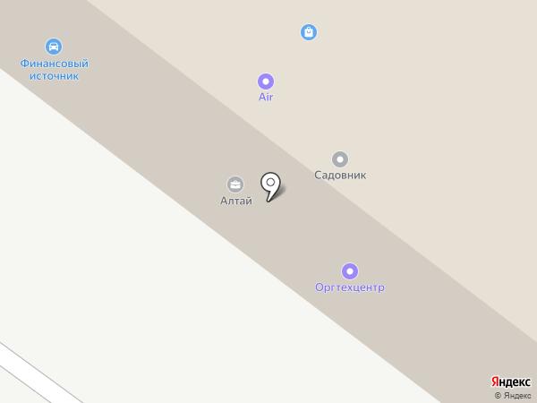 Андрей на карте Тюмени