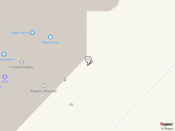 Аварийный комиссар на карте Тюмени