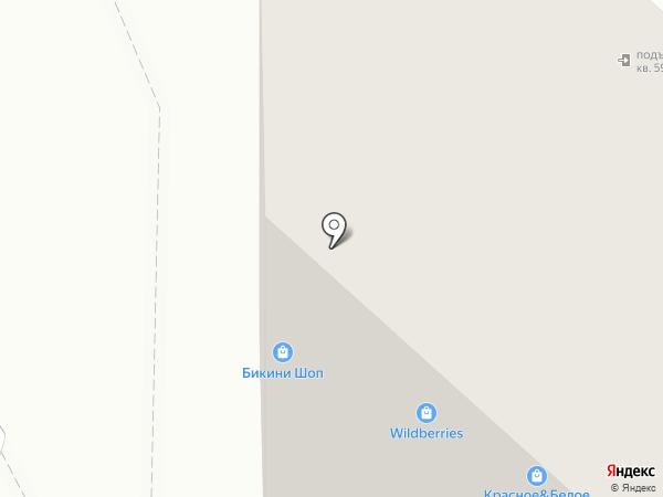 Ветеринарная клиника на карте Тюмени