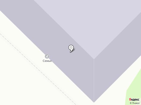 Речь на карте Тюмени