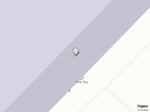 Многопрофильный колледж на карте Тюмени