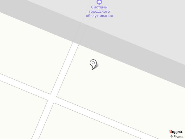 Ареал на карте Тюмени