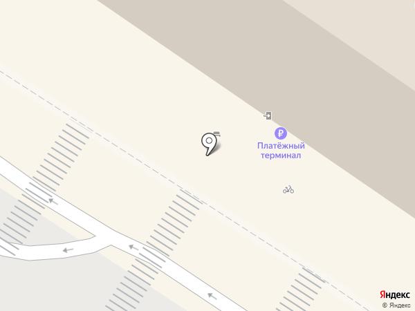 Тенториум на карте Тюмени