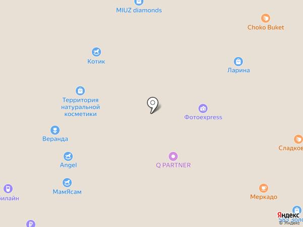 Hover bot на карте Тюмени