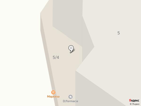 Радуга потолков на карте Тюмени