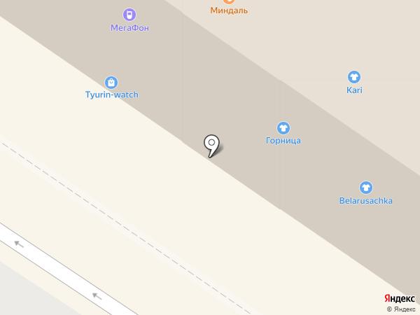 Горница на карте Тюмени