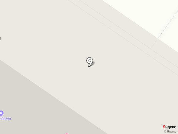 Лазурная птичка на карте Тюмени