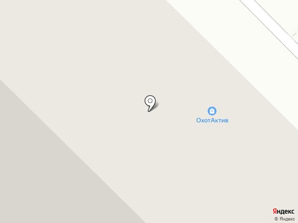 ОхотАктив на карте Тюмени