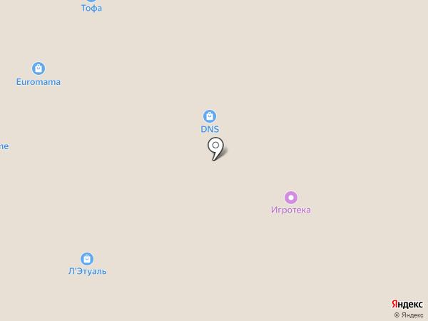 Тюмень на карте Тюмени