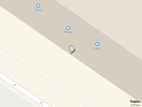 Fabric на карте Тюмени