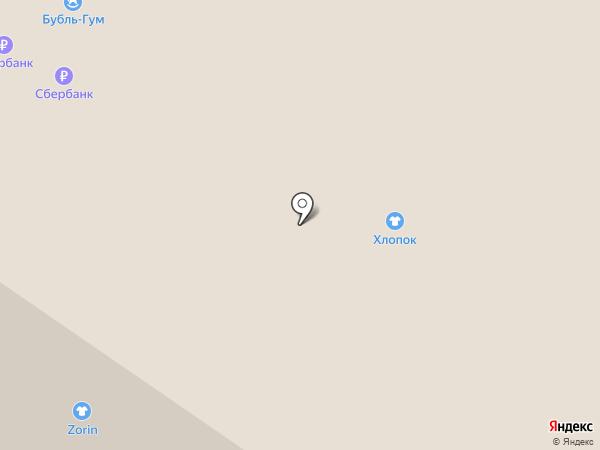 ХлопОк на карте Тюмени