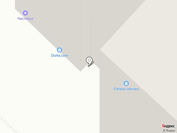 Идеал Мебель на карте Тюмени