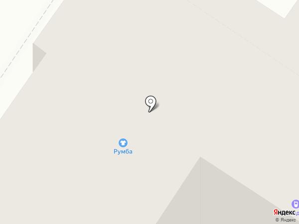 Румба на карте Тюмени