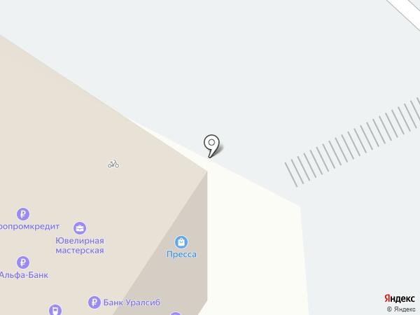 Штаб на карте Тюмени