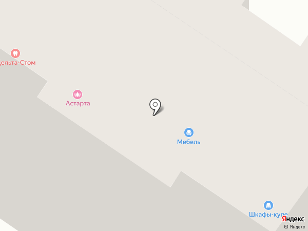 ASклимат на карте Тюмени