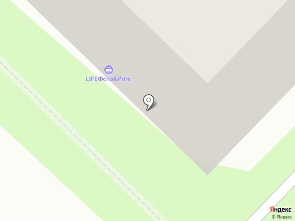 Лакки Nail на карте Тюмени