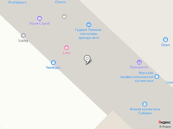 Адель Мебель на карте Тюмени