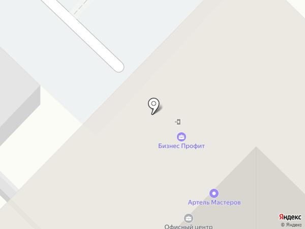 КомплектМонтажСтрой на карте Тюмени