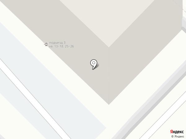 Меланж на карте Тюмени