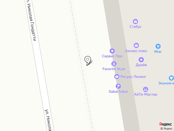 Региональный лизинговый центр на карте Тюмени