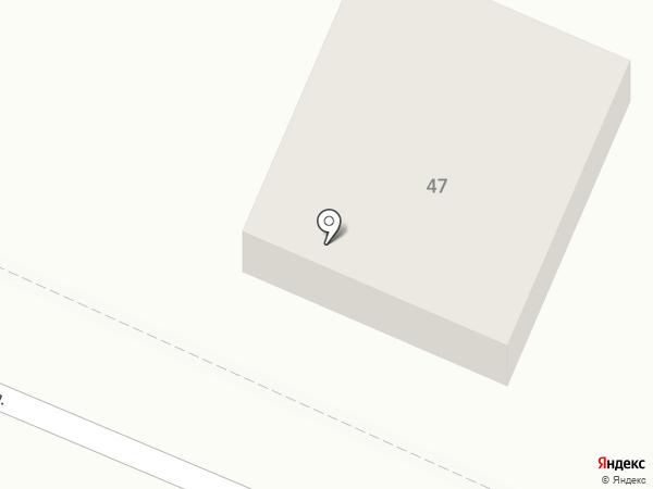 Диригир на карте Тюмени