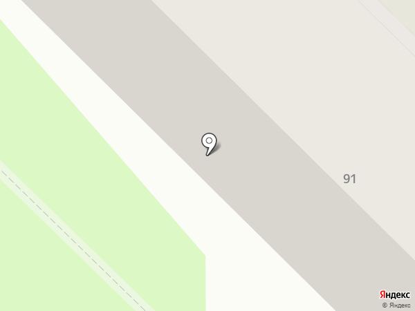 Кван на карте Тюмени