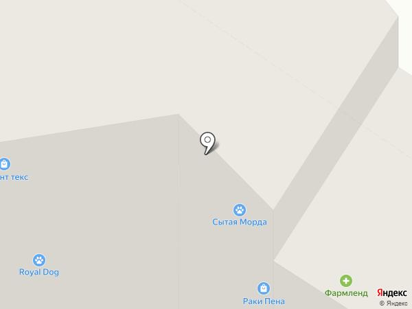 БУИДО на карте Тюмени