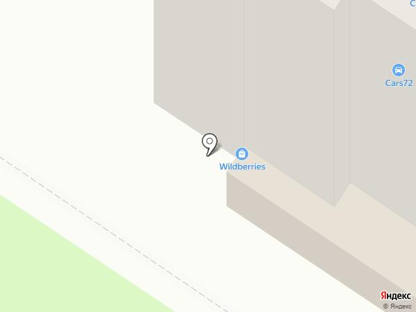 Лайтпласт на карте Тюмени