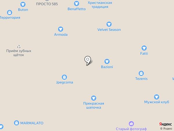 Armoda на карте Тюмени