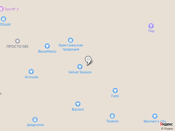 ZM на карте Тюмени