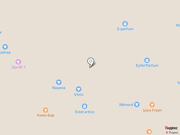 Оренбургский пуховый платок-Тюмень на карте Тюмени