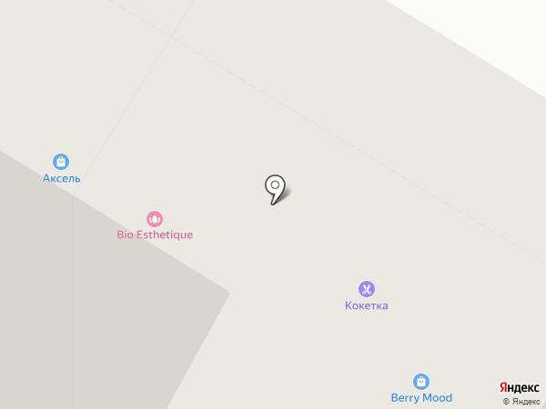 Кокетка на карте Тюмени