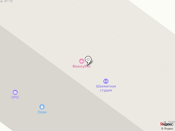 ЧайКофский на карте Тюмени