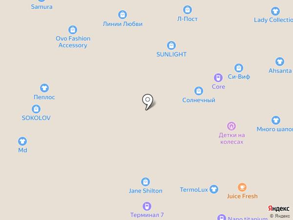 Горячие футболки на карте Тюмени