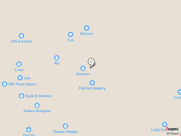 Fashion jewelry на карте Тюмени
