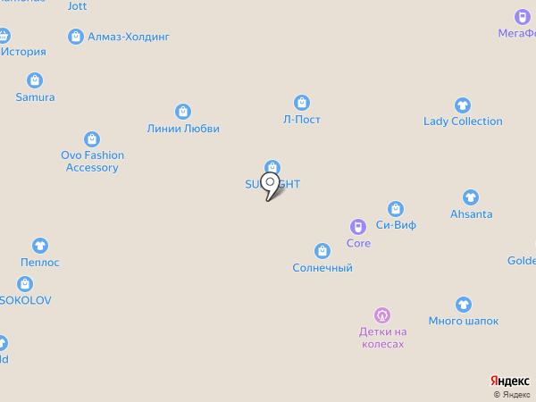 Marmeland на карте Тюмени