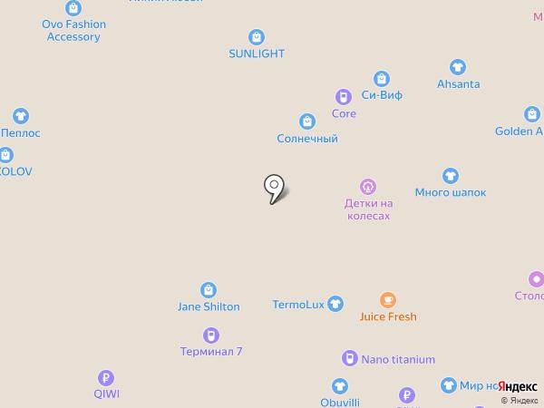 Шерстянки на карте Тюмени