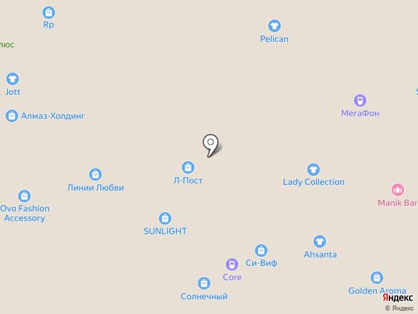 Kapous-центр на карте Тюмени
